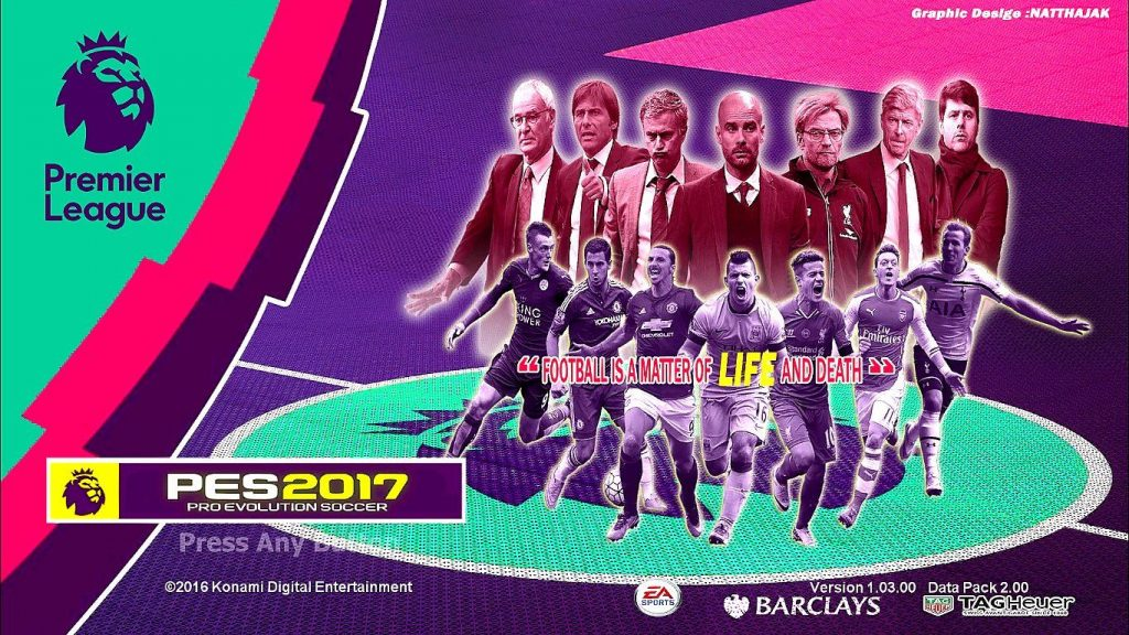 [PES 2017] Patch PTE version VN 2.0 AIO - Add tuyển Việt Nam, Classic teams
