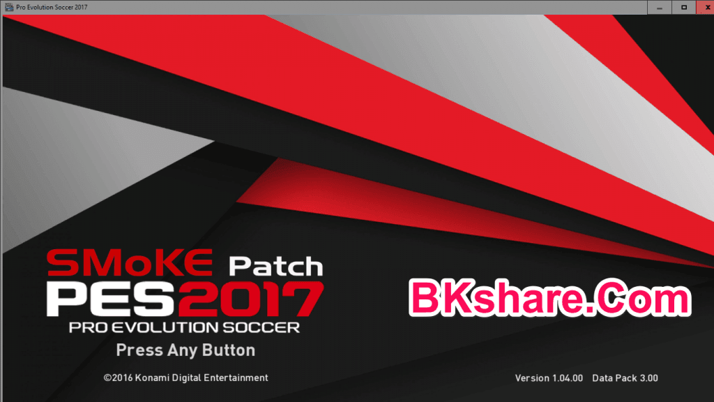 Download PES 2017 SMoKE Patch 9.3 AIO – Patch PES 2017 mới nhất