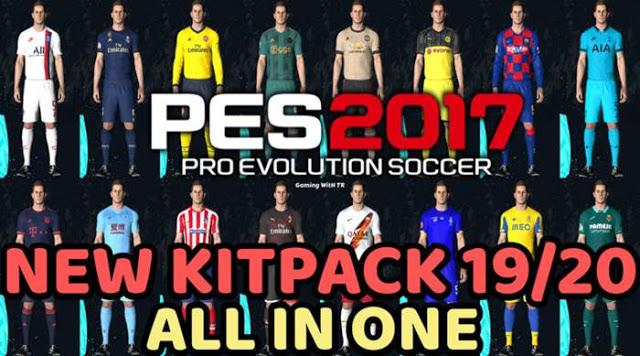 PES 2017 Kitpack 2019/2020 by TR