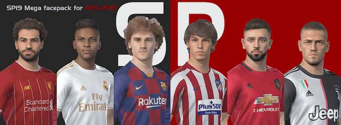 PES2019 - SmokePatch Face Pack - Face PES 2019 mới nhất