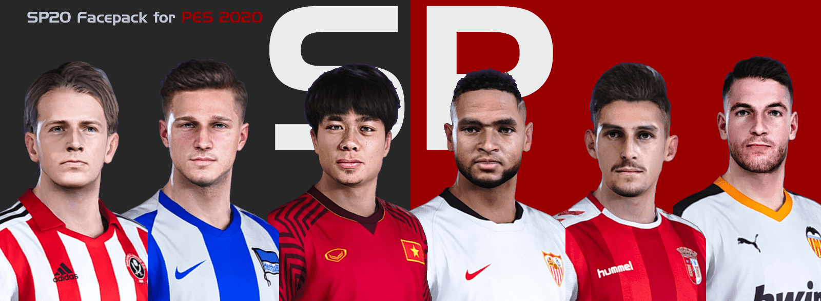PES2020 - SmokePatch Face Pack - Facepack PES 2020 mới nhất
