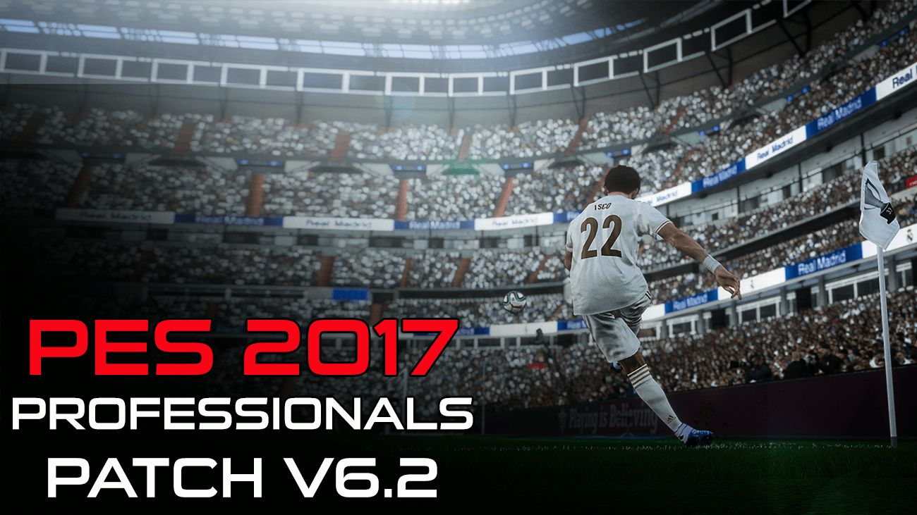 Download PES 2017 Professionals Patch v6.2 AIO mới nhất
